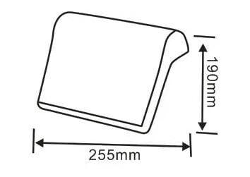 Badewannenkissen aus  Polyurethan - Farbe wählbar zoom thumbnail 4