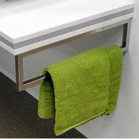 Design Wandhalterung Handtuchhalter für Waschtischplatte Counterboard SMART-Line - 2 Stück zoom thumbnail 3