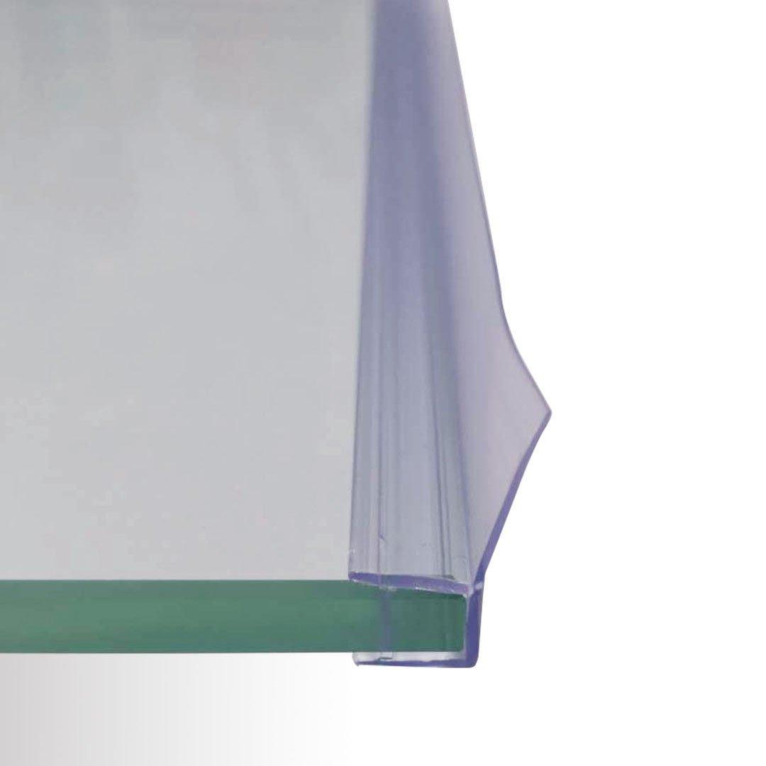 Duschdichtung 90 Grad - für BERNSTEIN Duschkabinen EX802, EX806 - Glasstärke 8 mm