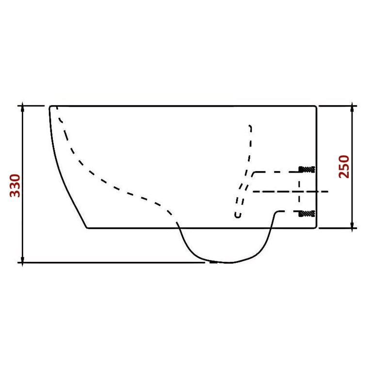 BERNSTEIN Design Wand-Hänge WC Toilette Nano inkl. Softclose Deckel NT2019 zoom thumbnail 3