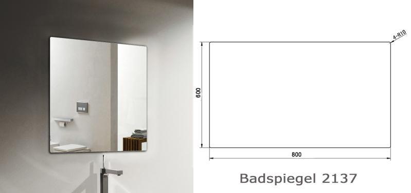 Badmöbel Vision 800 Weiß matt - Spiegel und Aufsatzwaschbecken optional zoom thumbnail 5