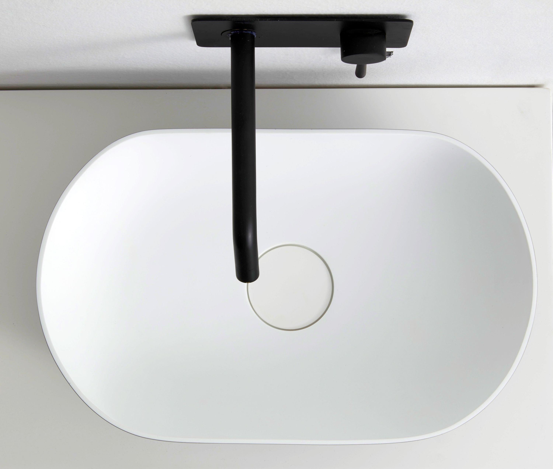 Aufsatzwaschbecken O-541 aus Mineralguss - 54 x 34 x 13 cm - Farbe wählbar