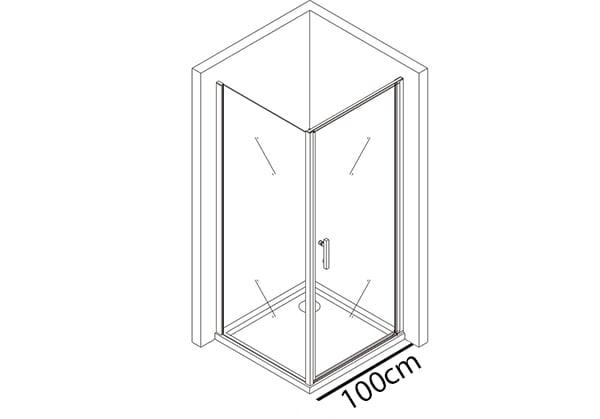 Tür 100cm