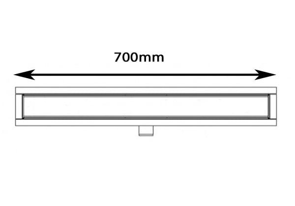 700mm