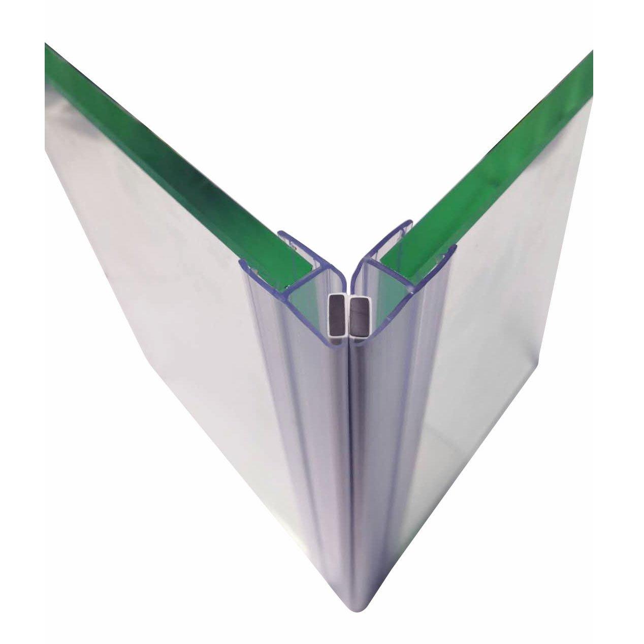 Duschdichtung Magnetdichtung (1 Paar) - für BERNSTEIN Duschkabinen EX213, EX506, EX802 - Glasstärke 6 mm zoom thumbnail 3