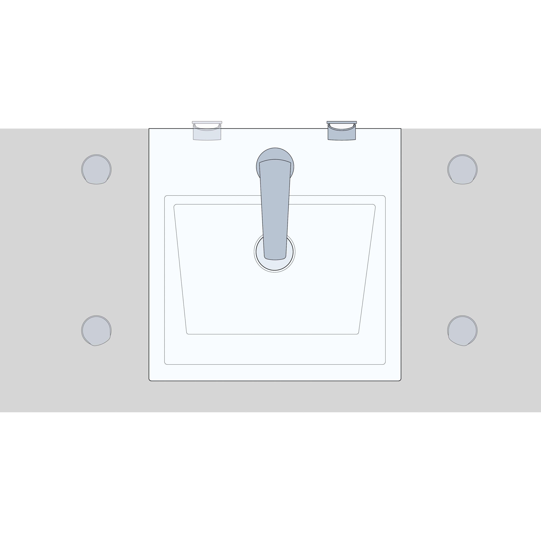 Design Waschtischarmatur Badarmatur XELO-Flex 160 - Chrom zoom thumbnail 6