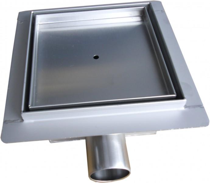 Edelstahl-Duschrinne S8 für Duschkabine befliesbar -  Größe wählbar