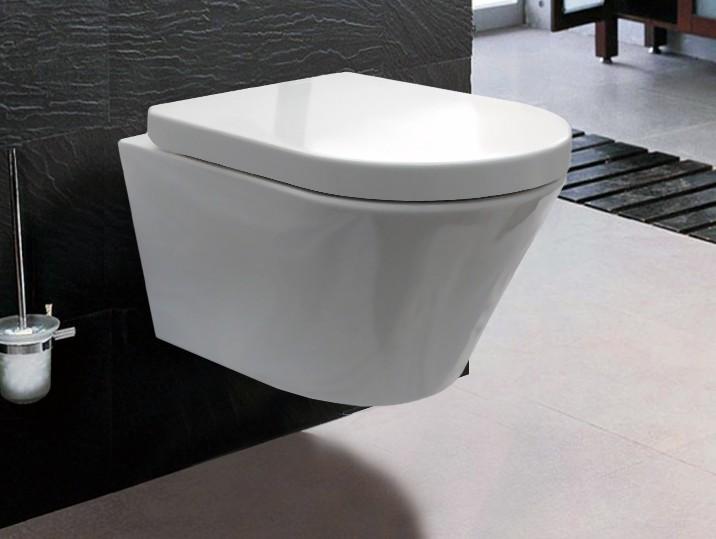 BERNSTEIN Luxus-Wand-Hänge-WC Toilette Softclose CH1088