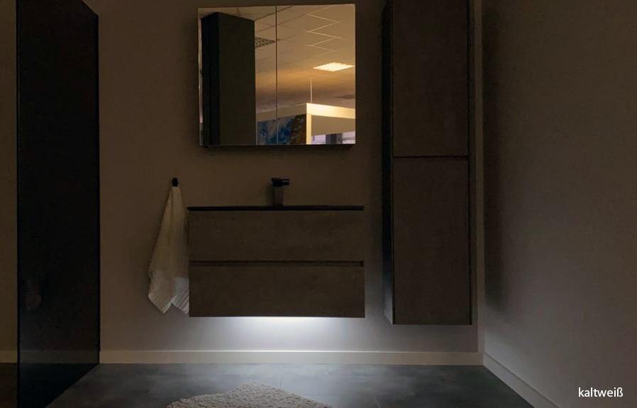 LED-Lichtleiste für Badmöbelsets - in Warmweiß und Kaltweiß - diverse Längen zoom thumbnail 4