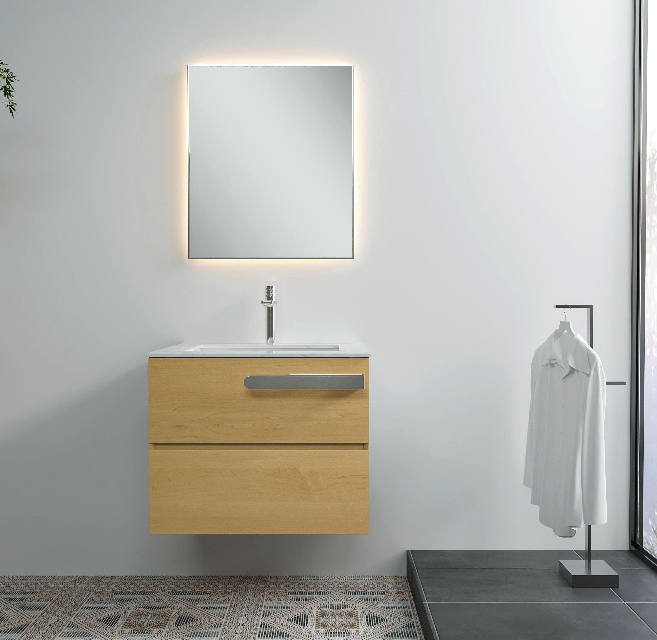 Selbstklebender Handtuchhalter HH21 Korpusmontage für Badmöbel - Farbe wählbar zoom thumbnail 3