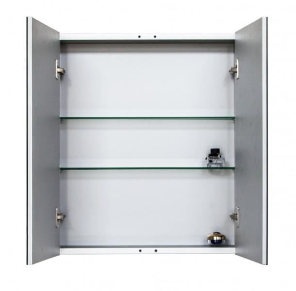 Spiegelschrank Multy BS60 aus Aluminium - Breite 60cm zoom thumbnail 3