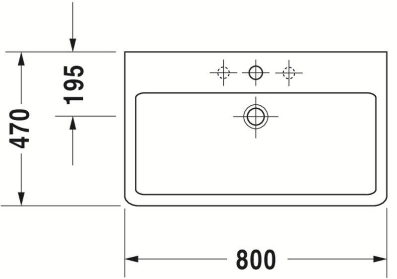 Duravit Ketho Badmöbel-Set 750 mit Vero Waschtisch - Optional mit Seitenschrank und Spiegel  zoom thumbnail 4