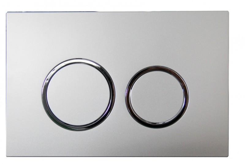 WC-Vorwandelement G3005 inkl. Betätigungsplatte satin zoom thumbnail 3