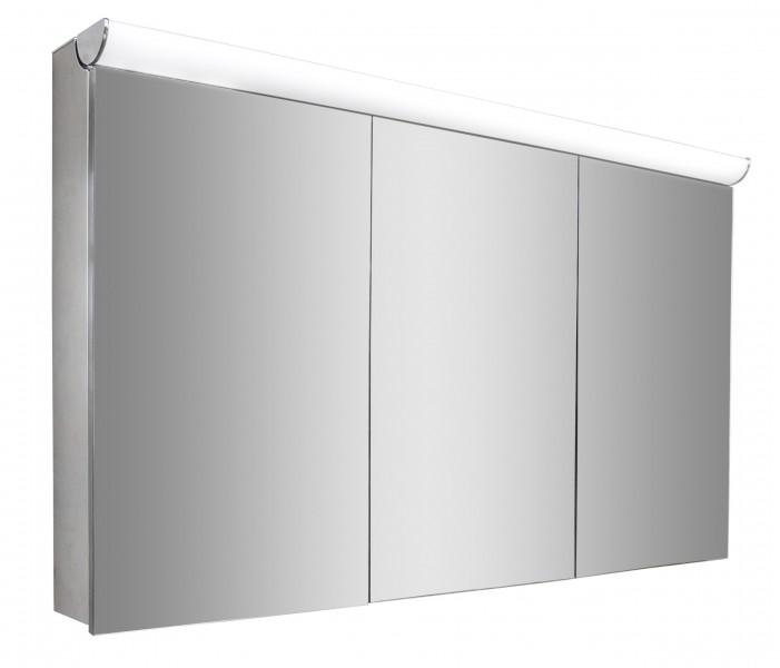 Spiegelschrank Multy BS120 mit LED-Beleuchtung - Breite 120cm zoom thumbnail 3