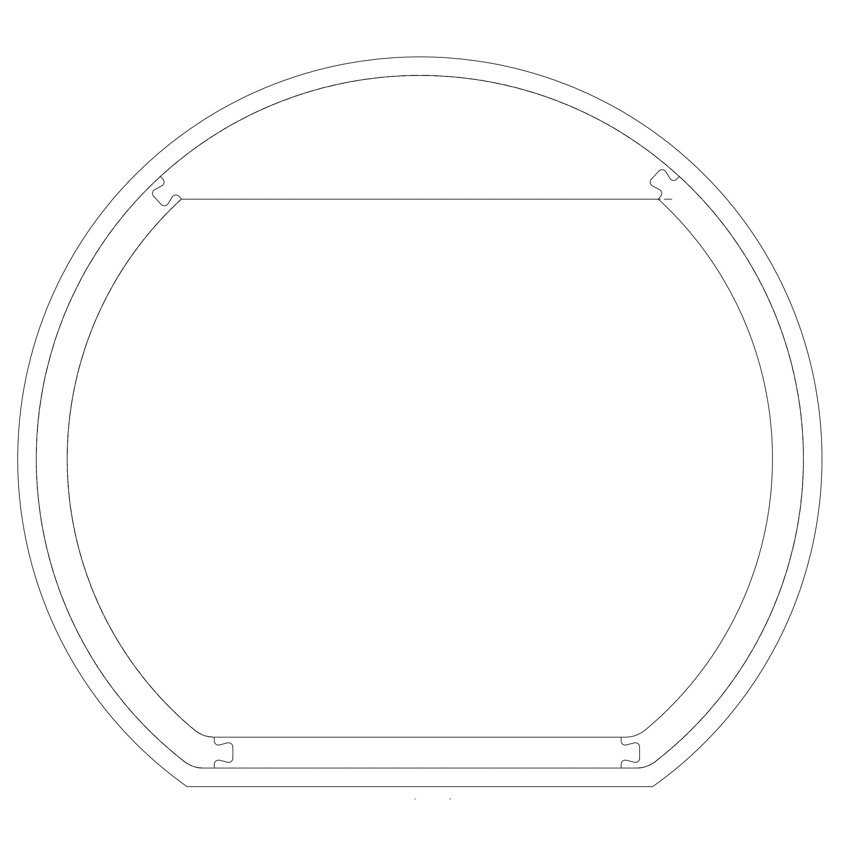 LED Lichtspiegel Badspiegel rund BOVA mit Spiegelheizung - 130 x 118 cm zoom thumbnail 5